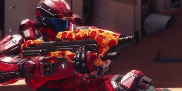 Разработчики Halo 5 подарили игрокам скин пиццы