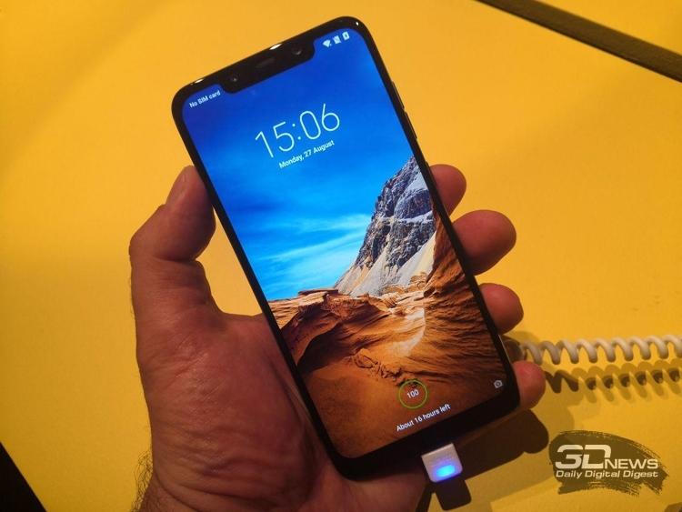 "Смартфон Xiaomi Pocophone F1 Lite показался в бенчмарке"""
